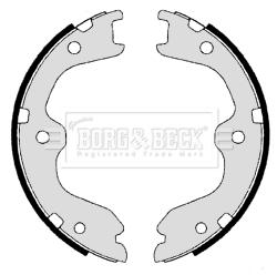 kit de frein arrière simple ou prémonté BORG & BECK BBS6343 (X1)