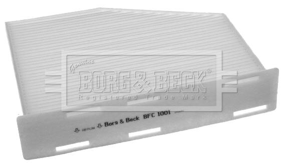 Filtre d'habitacle BORG & BECK BFC1001 (X1)