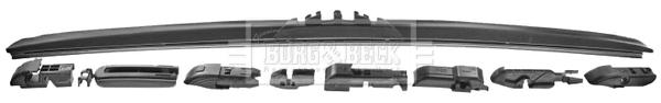 Balai d'essuie-glace BORG & BECK BW24H (X1)