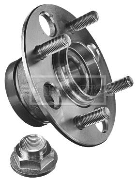 Roulement de roue BORG & BECK BWK1364 (X1)