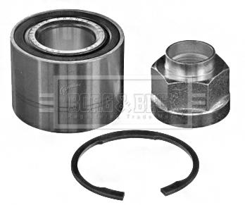 Roulement de roue BORG & BECK BWK1367 (X1)