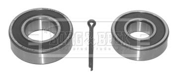Roulement de roue BORG & BECK BWK432 (X1)