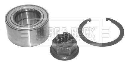 Roulement de roue BORG & BECK BWK851 (X1)