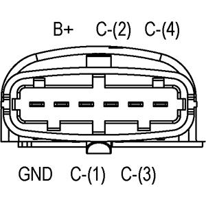 Bobine d'allumage (X1)