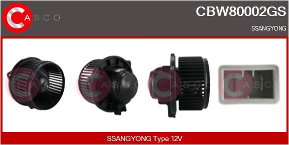 Chauffage et climatisation CASCO CBW80002GS (X1)