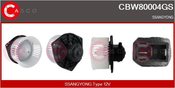 Chauffage et climatisation CASCO CBW80004GS (X1)