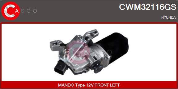 Moteur essuie glace CASCO CWM32116GS (X1)