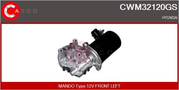 Moteur essuie glace CASCO CWM32120GS (X1)