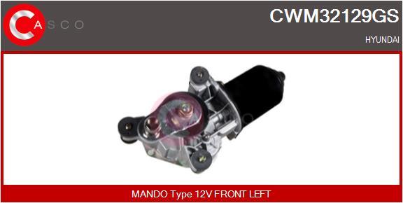 Moteur essuie glace CASCO CWM32129GS (X1)