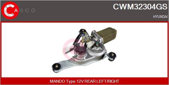 Moteur essuie glace CASCO CWM32304GS (X1)