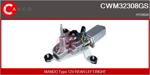 Moteur essuie glace CASCO CWM32308GS (X1)