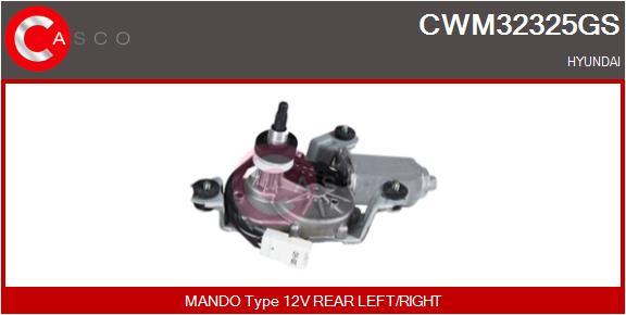 Moteur essuie glace CASCO CWM32325GS (X1)