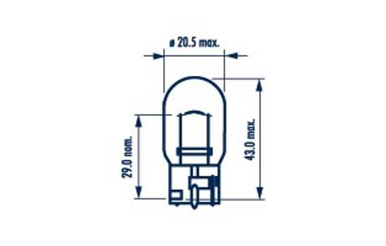 Ampoule, feu antibrouillard (X1)