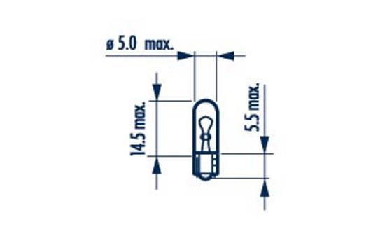 Ampoule, éclairage intérieur (X1)