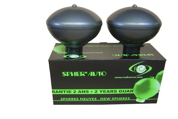 Spheres de suspension (Jeu de 2)