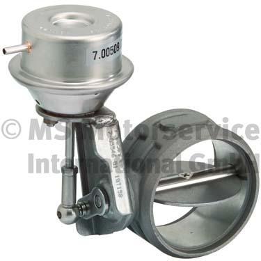 Clapet de gaz d'échappement (X1)