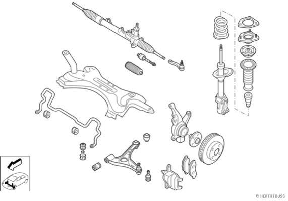 Silentblocs des roues (X1)