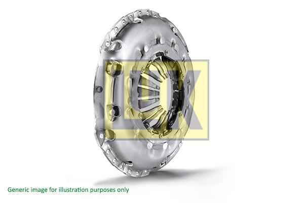 Mecanisme d'embrayage LuK 118 0097 12 (X1)