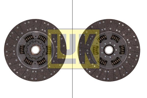 Disque d'embrayage (X1)