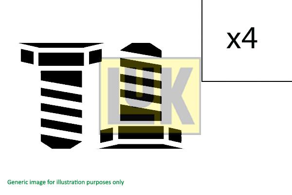 Visserie, volant moteur (X1)