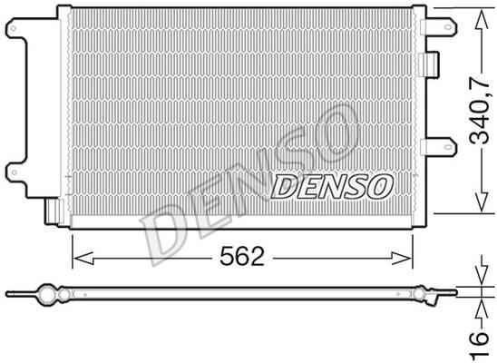 Condenseur / Radiateur de climatisation (X1)