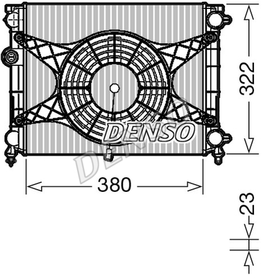 Module de refroidissement (X1)