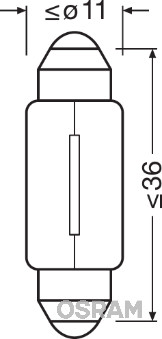 Ampoule, éclairage intérieur (Jeu de 2)