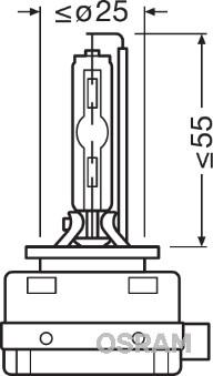 Ampoule, projecteur longue portée (X1)
