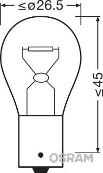 Ampoule, feu diurne (Jeu de 2)