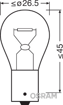 Ampoule, feu clignotant (Jeu de 2)