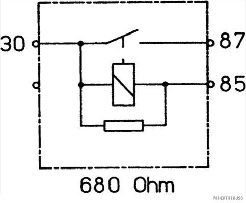 Relai de gestion moteur (X1)
