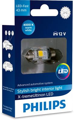 Ampoule, éclaire de coffre à bagages (X1)