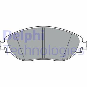 Kit de plaquettes de frein de stationnement (X1)