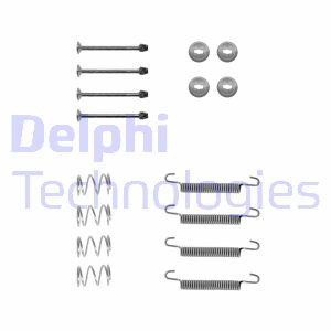 Kit d'accessoires mâchoires de frein de stationnement DELPHI LY1135 (Jeu de 16)