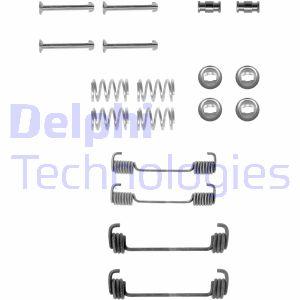 Kit d'accessoires mâchoires de frein de stationnement DELPHI LY1252 (X1)