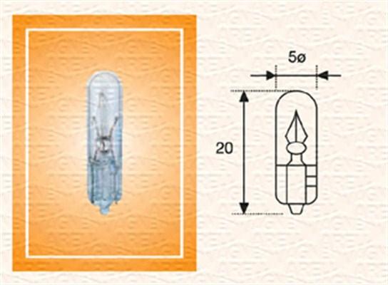 Ampoule, éclairage des instruments (X1)