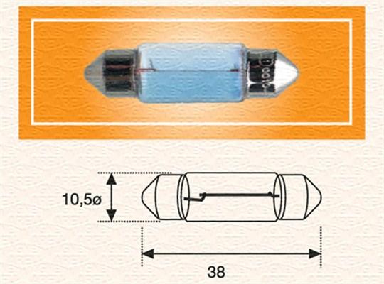 Ampoule, plaque d'immatriculation (X1)